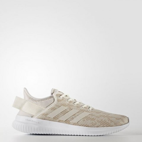 Adidas Neo Sneaker Damen Cloudfoam Qt Flex Beige :