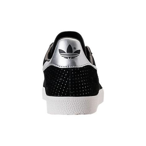 Gazelle Damen Schuhe Schwarzweißsilber Adidas By9363 Kern 7Ygbf6yv