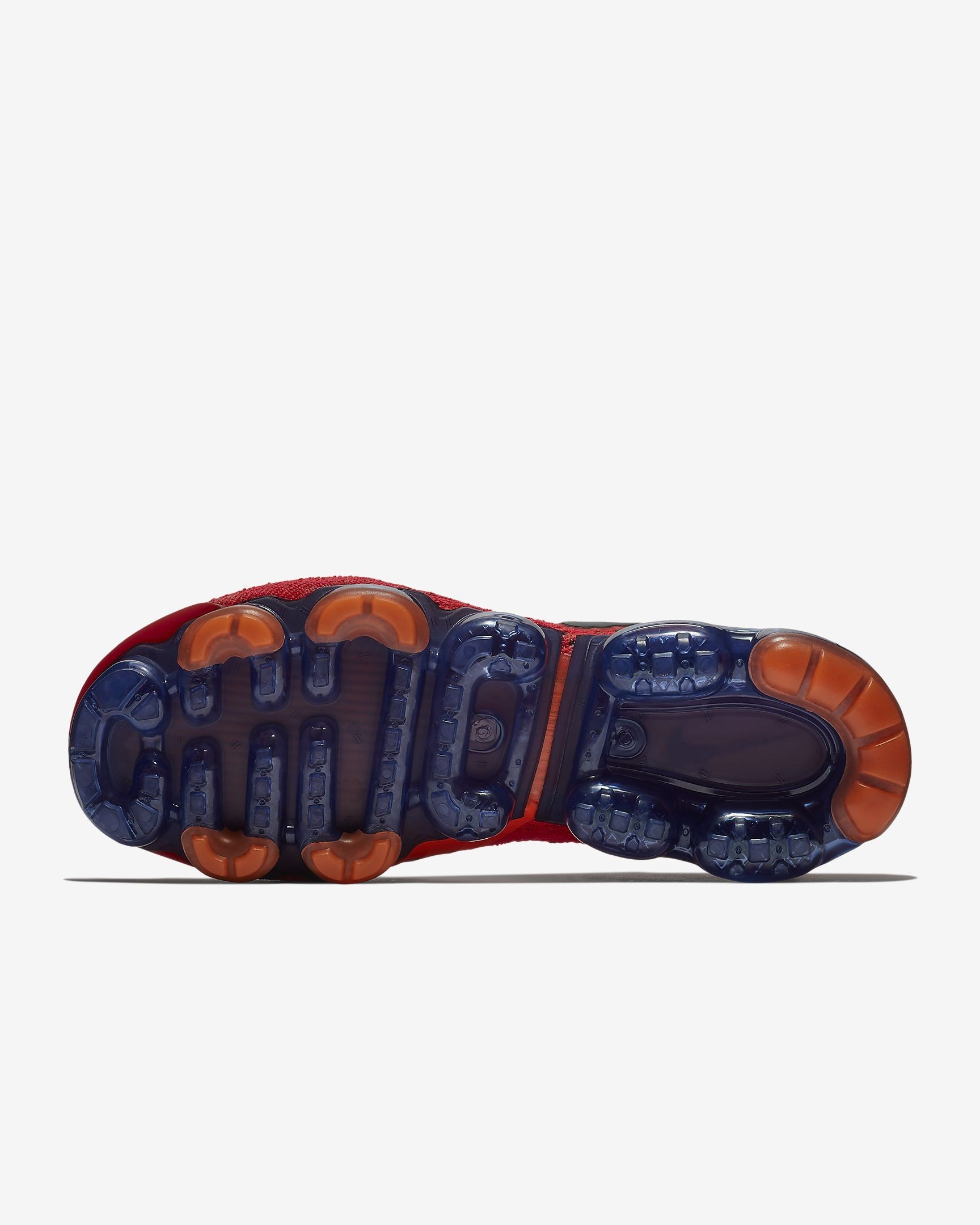 huge discount f5ebc b5eb1 ... Herren Rot Orbit Gesamt Orange Chile Rot Obsidian Nike Air VaporMax  Flyknit 2