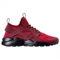 Herren Nike Air Huarache Run Ultra Schuh 819685 604 Zäh Rot/Dunkel Mannschaft Rot/Schwarz