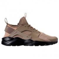 Herren Nike Air Huarache Run Ultra Schuh 819685 201 - Pilz/Khaki/Schwarz