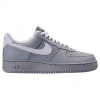 Herren Wolf Grau/Weiß/Spiel Königlich Nike Air Force 1 Low Sneaker 315122 070