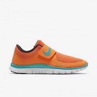 Männer/Frauen Nike Free Socfly Hell Zitrusfrucht/Gesamt Orange/Fluoreszierend Grün/Licht Retro Schuh