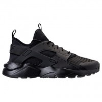 Herren Nike Air Huarache Run Ultra Schuh 819685 002 Verdreifachen Schwarz