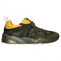 Herren Puma Blaze Von Ruhm Camping Olive/Gold/Braun Schuhe 36140803