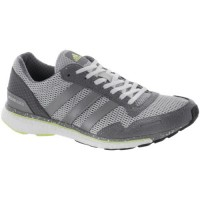 Grau/Silber Metallisch/Grün Adidas Adizero Adios 3 Frauen Schuh