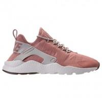 Damen Nike Air Huarache Run Ultra Schuh 819151 603 Partikel Rosa/Licht Bone/Gipfel Weiß