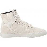 Supra Skytop Männer Schuh Im Knochen Weiß/Knochen Weiß