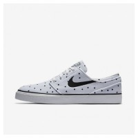 Männer Nike Sb Zoom Stefan Janoski Segeltuch Premium Skateboarding Schuhe Mn9640-062 Weiß