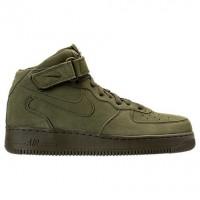 Legion Grün/Weiß Herren Nike Air Force 1 Mitte Sneaker 315123 302