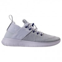 Damen Nike Free Rn Commuter Weiß/New Grün/Wild Grape Schuhe 922911 100
