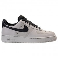Blass Grau/Schwarz Herren Nike Air Force 1 Low Schuhe 315122 069