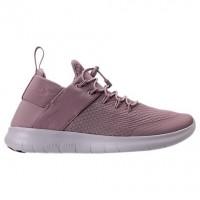 Damen Nike Free Rn Commuter Sneaker 880842 500 Im Pflaume Rot/Dunkel Orange/Grau Weiß