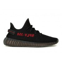 Männer Und Frauen Schwarz Rot Adidas Kanye West Yeezy Boost 350 V2