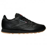 Reebok Classic Leder Gummi 49798 Schwarz/Braun Männer Schuhe