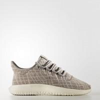 Damen Adidas Originals Tubular Shadow Sneaker Holzkohle Solide Grau/Holzkohle Solide Grau/Roh Rosa By9736