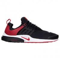 Herren Nike Presto Essential Schuh 848187 002 - Schwarz/Fitnessstudio Rot/Weiß