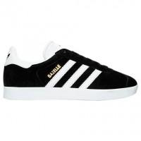 Frauen Adidas Gazelle Schuhe Ba9595 In Kern Schwarz/Weiß/Metallisch Gold