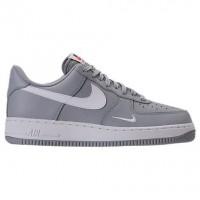 Herren Wolf Grau/Weiß Nike Air Force 1 Low Sneaker 820266 018