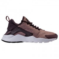 Nike Air Huarache Run Ultra Damen Schuhe 859516 602 Granatapfel Rot/Metallisch Braun/Rosa