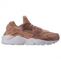 Damen Nike Air Huarache Run Premium Txt Elm/Metallisch Rot Bronze/Gipfel Schuh Aa0523 200
