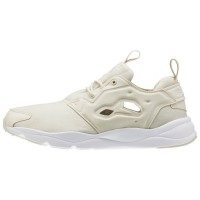 Reebok Furylite Frauen Jersey Classic Schuhe (Papier Weiß/Weiß)