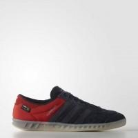 Männer Adidas Originals Hamburg Technik Blau/Rot Sneaker