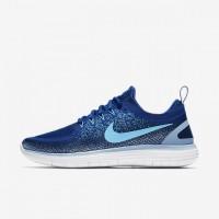 Herren Fitnessstudio Blau/Binär Blau/Zirrus Blau/Blau Wut Nike Free Rn Distance 2 Schuh