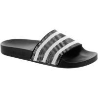 Adidas Adilette Stricken Männer Flip Flop Schwarz/Weiß