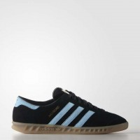 Adidas Originals Hamburg Herren Schwarz/Blau Schuhe