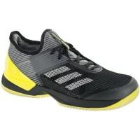 Ader Schwarz/Nacht Metallisch Frauen Adidas Adizero Ubersonic 3 Clay Schuhe