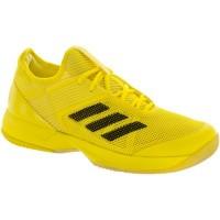 Hell Gelb/Ader Schwarz/Weiß Adidas Adizero Ubersonic 3 Frauen Schuhe