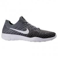 Nike Free Tr Flyknit 2 Frauen Schuh 904658 007 - Cool Grau/Weiß/Schwarz/Dunkel Grau