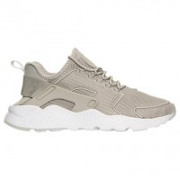 Nike Air Huarache Run Ultra Breathe Damen Schuh 833292 003 Blass Grau/Weiß/Licht Blau