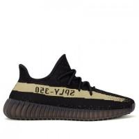 Frauen/Männer Schwarz Grün Adidas Kanye West Yeezy Yeezy Boost 350 V2 Schuhe