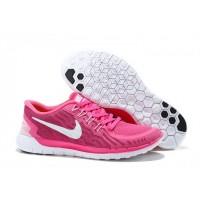 Damen Nike Free 5.0 V2 Peachblossom Weiß Schuhe