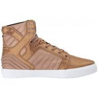 Männer Supra Skytop Evo Kupfer/Braun/Weiß Schuhe