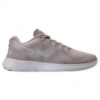 Damen Nike Free Rn Schuhe 880840 104 Beige/Metallisch Silber/Blass Grau