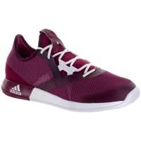Damen Adidas Adizero Defiant Bounce Geheimnis Rubin/Weiß/Rot Nacht Schuhe