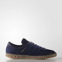Adidas Originals Hamburg Männer Technik Blau Schuh