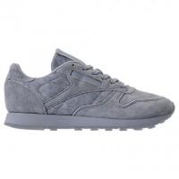 Frauen Meteor Grau/Weiß Reebok Classic Leder Gummi Sneaker Bs6522