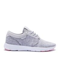 Supra Hammer Run Frauen Schuhe 98038-157-M Grau Weiß