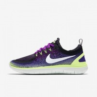Damen Lila/Dunkel Iris/Geist Grün/Weiß Nike Free Rn Distance 2 Schuhe