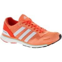 Frauen Adidas Adizero Adios 3 Einfach Orange/Weiß/Energie Schuhe