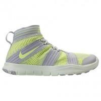 Grau Weiß/Geist Grün/Volt Männer Nike Free Train Instinct 2 Sneaker 898052 002