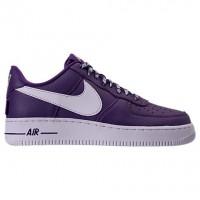 Gericht Lila/Weiß Männer Nike Nba Air Force 1 '07 Lv8 Schuhe 823511 501
