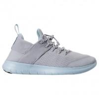 Grau Weiß/Licht Blau Damen Nike Free Rn Commuter Schuhe 880842 012