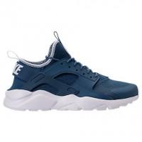 Industriell Blau/Blass Grau/Weiß Herren Nike Air Huarache Run Ultra Schuh 819685 405