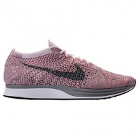 Nike Flyknit Racer Damen/Herren Perle Rosa/Cool Grau/Hell Melone Schuh 526628 604