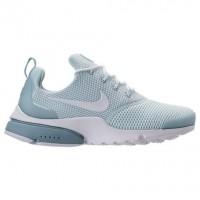 Licht Blau Blau/Weiß/Glimmer Blau Damen Nike Presto Fly Sneaker 910569 401